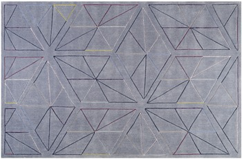 ESPRIT Kurzflor-Teppich Function ESP-4320-01 grau