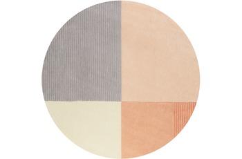 ESPRIT Kurzflor-Teppich Harlem ESP-4316-01 orange 100x100 cm