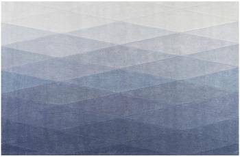 ESPRIT Kurzflor-Teppich Haux ESP-4318-03 blau 160x230 cm