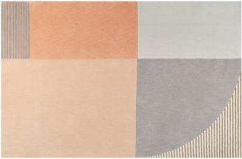 ESPRIT Kurzflor-Teppich Runway ESP-4304-03 orange 70x140 cm