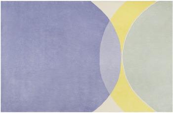 ESPRIT Kurzflor-Teppich Tavai ESP-4302-02 blau 70x140 cm