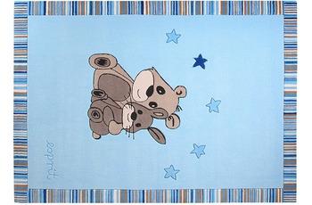 ESPRIT Kinder Teppich, Little Best Friends ESP-3336-01 blau, Öko-Tex 100 zertifiziert