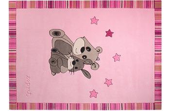 ESPRIT Kinder Teppich, Little Best Friends ESP-3336-02 rosa/ pink, Öko-Tex 100 zertifiziert