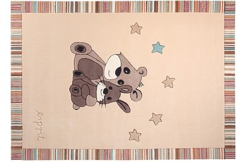 ESPRIT Kinder Teppich, Little Best Friends ESP-3336-03 beige, Öko-Tex 100 zertifiziert