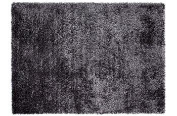 ESPRIT Hochflor-Teppich New Glamour ESP-3303-12 grau-anthrazit 90 x 160 cm