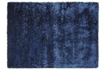 ESPRIT Hochflor-Teppich New Glamour ESP-3303-13  jeansblau 90 x 160 cm