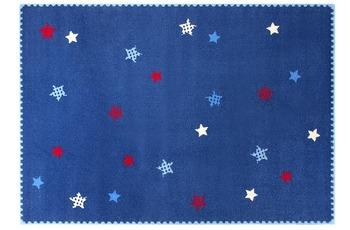 ESPRIT Kinder-Teppich, Teppich, Space Stars ESP-8022-02 blau, Öko-Tex 100 zertifiziert