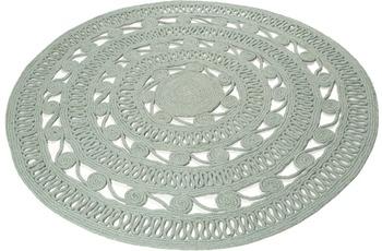 ESPRIT Teppich Crochet Style ESP-6115-02 grün 120 run