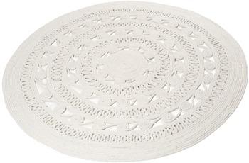 ESPRIT Teppich Crochet Style ESP-6115-09 weiß 120 run