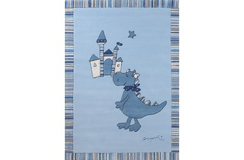 ESPRIT Teppich Dragon & castle ESP-508-01 blau 170x240