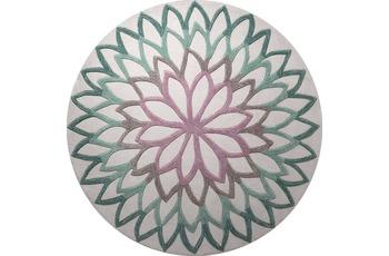 ESPRIT Teppich, Lotus Flower, ESP-4007-04, türkis