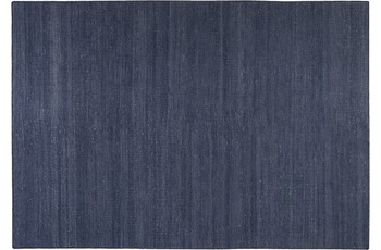 ESPRIT Handwebteppich Rainbow Kelim ESP-7708-13 blau 60 cm x 110 cm