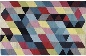 ESPRIT Teppich Rainbow Triangle Kelim ESP-7722-01 multicolor 80x150