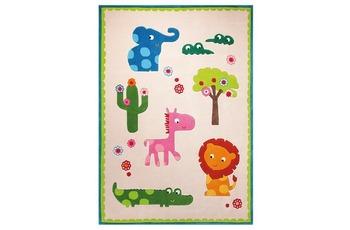 ESPRIT Kinder-Teppich, Zoo ESP-3634-01 beige, Öko-Tex 100 zertifiziert