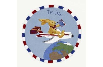Felix der Hase Teppich Flieger 130 x 130 cm rund
