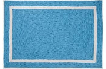 Gino Falcone Handwebteppich Benito 24463 700 blau 50 x 80 cm