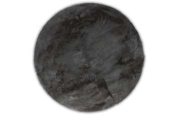 Gino Falcone Teppich Chiara anthracite 90 x 90 cm Herz