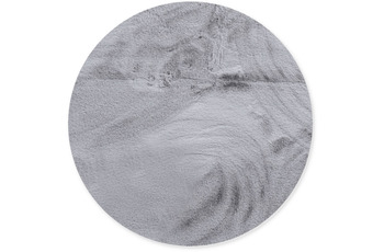 Gino Falcone Teppich Chiara silver 90 x 90 cm Herz