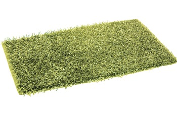 Gözze Allzweckteppich, Shaggy, Farbe grün 50 cm x 70 cm