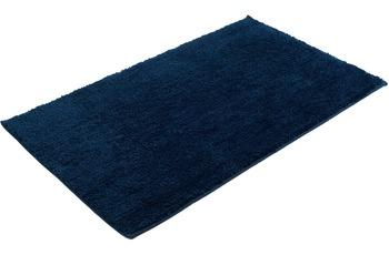 Gözze Mikrofaser Badteppich Rio dunkelblau Ø 110 cm