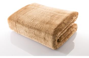 Gözze Mikrofaserdecke in Cashmere-Qualität, sand