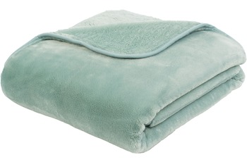 Gözze Premium Cashmere-Feeling Decke, aqua