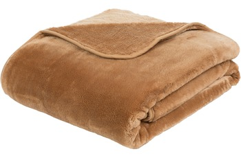 Gözze Premium Cashmere-Feeling Decke, sand