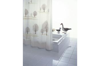 GRUND Duschvorhang ALBERI weiss-braun