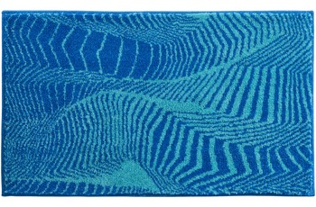 GRUND Badteppich KARIM RASHID Concept 13 244 blau-türkis 50 cm x 65 cm