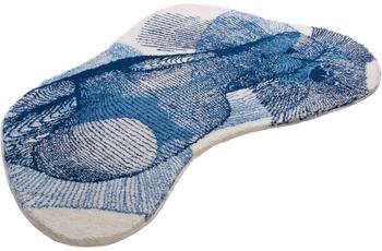 GRUND Badteppich KARIM RASHID Concept 27 202 blau 90 cm x 150 cm