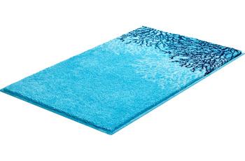 GRUND Badteppich REEF blau