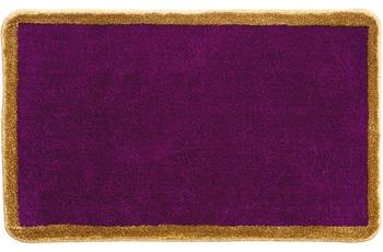 GRUND , Badteppich, RHEINGOLD 262 purpur + Goldglanzgarn