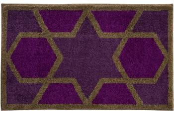 GRUND , Badteppich, SAMSARA 262 purpur