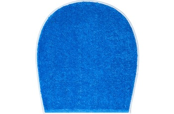 GRUND BONA Badteppich blau 47 x 50 cm Deckelbezug