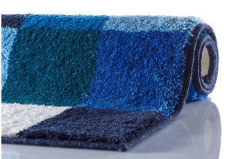 GRUND Badteppich BONA blau 60 x 100 cm