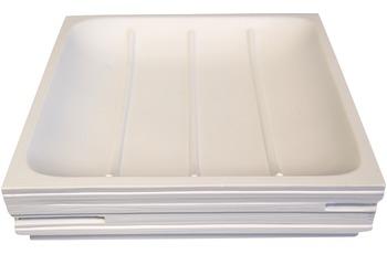 GRUND Seifenablage BRICK, weiss 11,6x11,6x2,6 cm