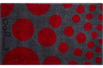 Colani 16 Badteppich rot 60x100 cm