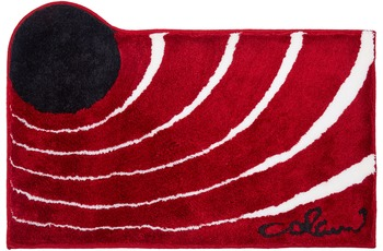 Colani 2 Badteppich rot 60x100 cm