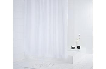 GRUND Duschvorhang DIAMANTE weiss glänzend
