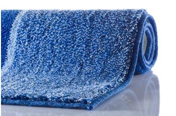 GRUND DIVISO Badteppich  Blau 60 x 60 cm WC-Vorleger ohne Ausschnitt