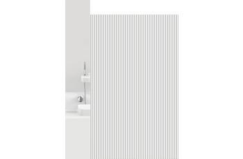 GRUND Duschvorhang Vertical weiß/ grau 180x200 cm