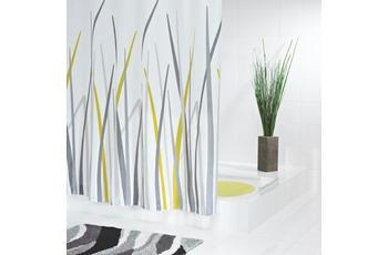 GRUND Duschvorhang ERBA weiss-grün-grau