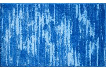 GRUND Badteppich FANCY blau 60 cm x 100 cm