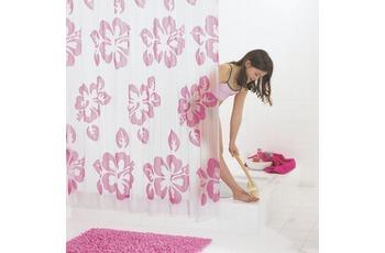 GRUND Duschvorhang FIORI rosé