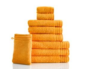 GRUND Handtuch  Memory orange