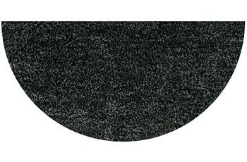 GRUND LEX Badteppich anthrazit 50 x 80 cm halbrund