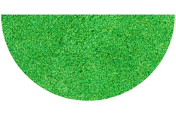 GRUND LEX Badteppich grün 50 x 80 cm halbrund