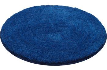 GRUND LEX Badteppich königsblau 80 cm rund