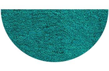 GRUND LEX Badteppich türkis 50 x 80 cm halbrund