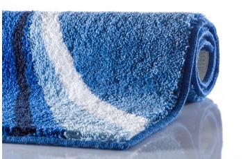 GRUND LUCA Badteppich blau 70x120 cm